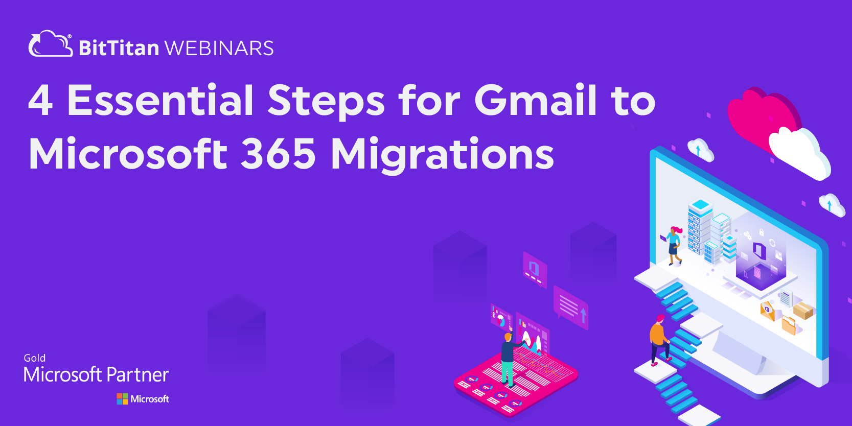 4 Essential Steps for a Gmail to Microsoft 365 Migration